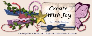 Create with Joy Banner